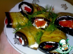 When needed, remove from freezer, put on a dry pan, over low heat, allow them to thaw and cook delicious eggplant rolls stuffed with your favorite filling.