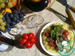 It is possible to serve stew with any side dish of your choice.   Now listen to the smell of autumn dishes... Feel the subtle wine fragrance? And rosemary? Try a little... Crazy delicious?! A soft creamy note in the sauce?  Mmmm... Viva Italia!