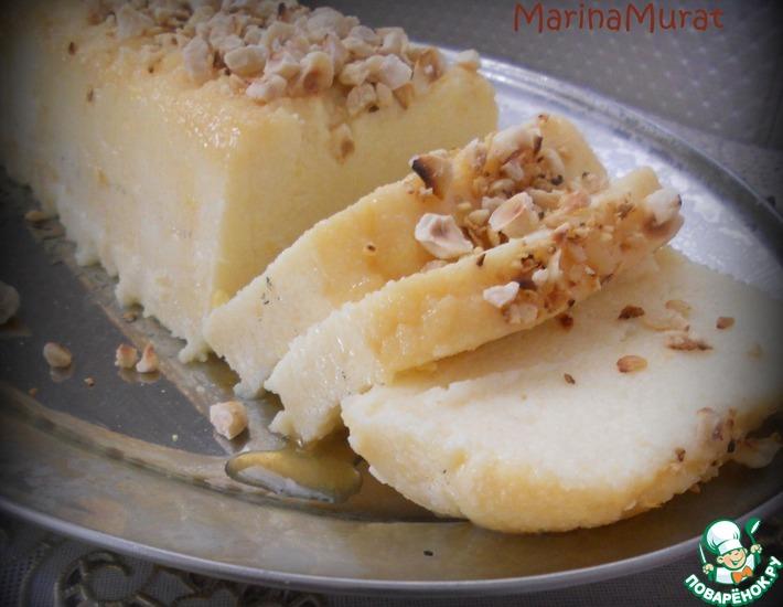 Рецепт: Турецкий десерт Жженый сахар