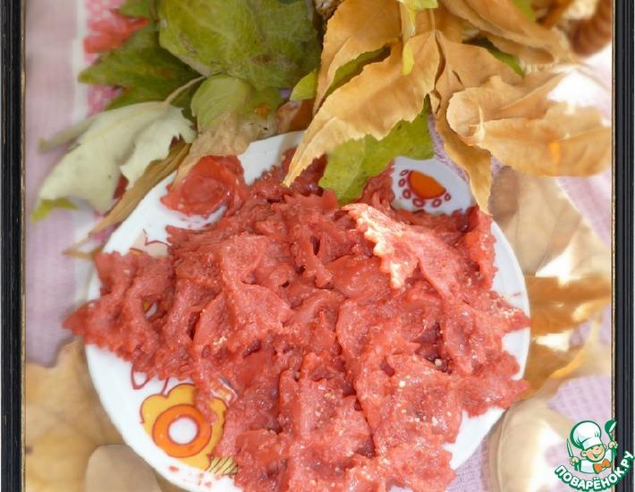 Рецепт: Farfalle fuxia-розовые бабочки