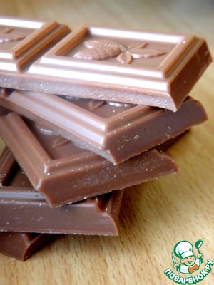 Melt chocolate in microwave or in a water bath. Chocolate can take more.