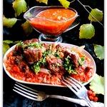 Телятина под томатами с гремолатой