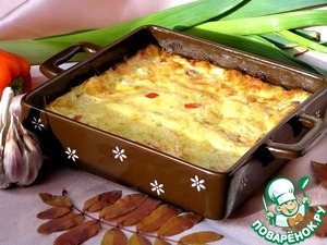 Bake in a preheated 200*C oven for 20-25 minutes until Golden brown. Bon appetit! :)
