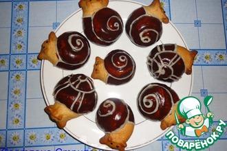 Рецепт: Печенье Улиточки