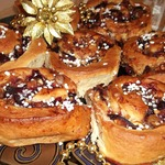 Сливовый пирог Розетка