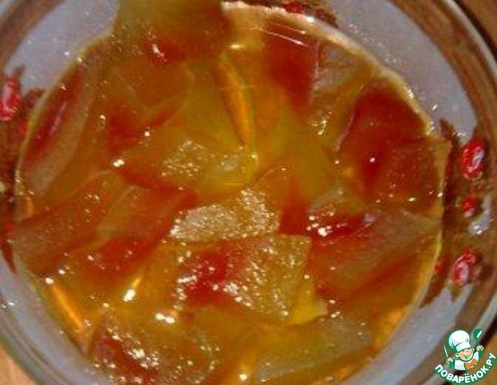 Рецепт: Варенье из арбузных корок