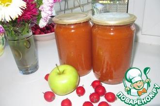 Рецепт: Джем из яблок и боярышника