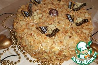 Рецепт: Торт Просекко-персиковый