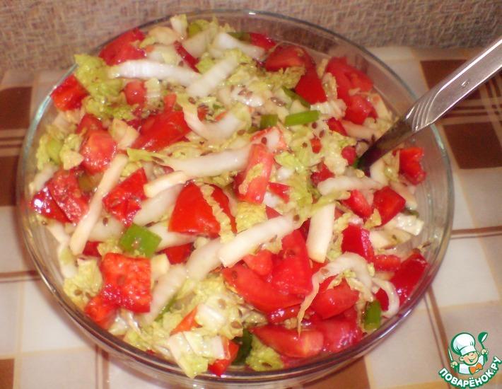 Рецепт: Салат Овощная фантазия