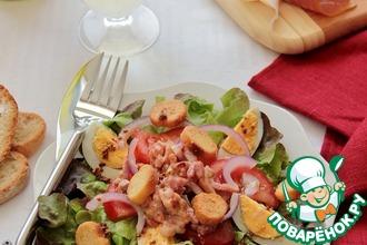 Рецепт: Вогезский салат