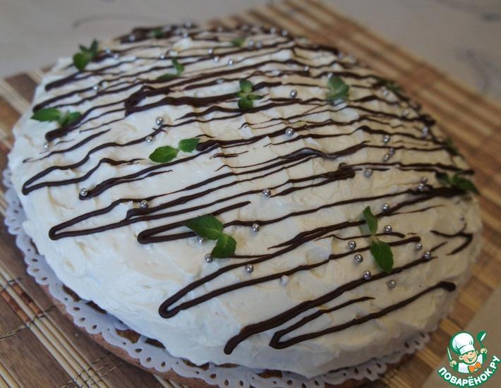 Рецепт: Пирог Белоснежка