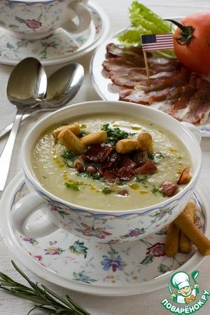 Рецепт: Крем-суп Айдахо