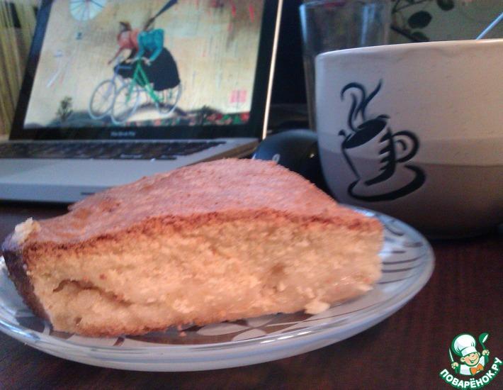 Рецепт: Лимонно-яблочный пирог Ядвига