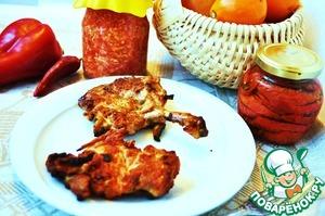 Рецепт Натуральная куриная котлета на гриле