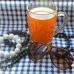 Горячий чай Осенний поцелуй