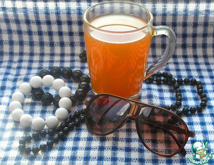 Рецепт: Горячий чай Осенний поцелуй