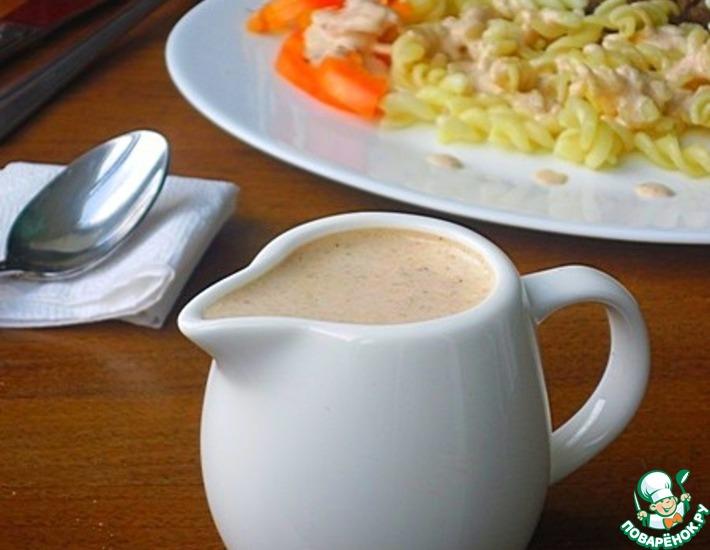 Рецепт: Соус Томатно-сметанный