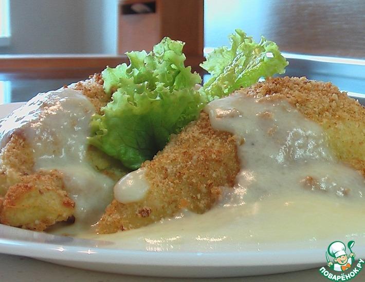 Зразы из картофеля с мясом под молочным соусом – кулинарный рецепт