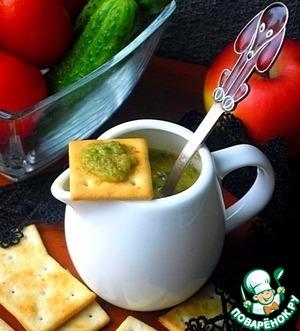 Пикантный соус из огурцов