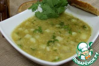 Рецепт: Египетский суп из красной чечевицы