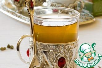 Рецепт: Чайный коктейль с кардамоном