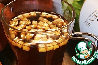 Рецепт: Чайный коктейль Ароматерапия