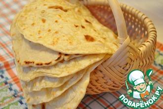 Рецепт: Мексиканская тортилья