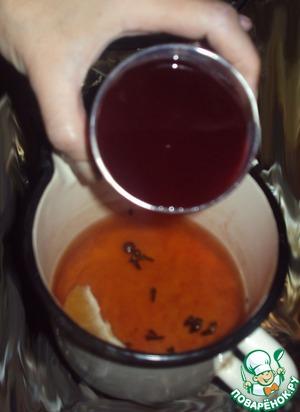 Чай с вином от простуды