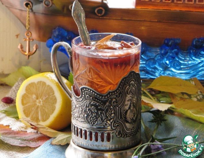 Рецепт: Чайный напиток Капитанский