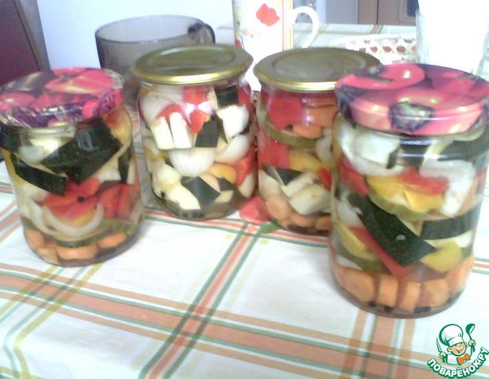 Рецепт: Овощное ассорти Фантазия