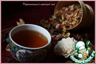 Рецепт: Марокканский мятный чай