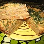 Печеночный тортик Омномном