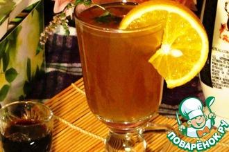 Рецепт: Согревающий чайный коктейль Осенний вечер