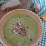 Гороховый суп с перловой крупой