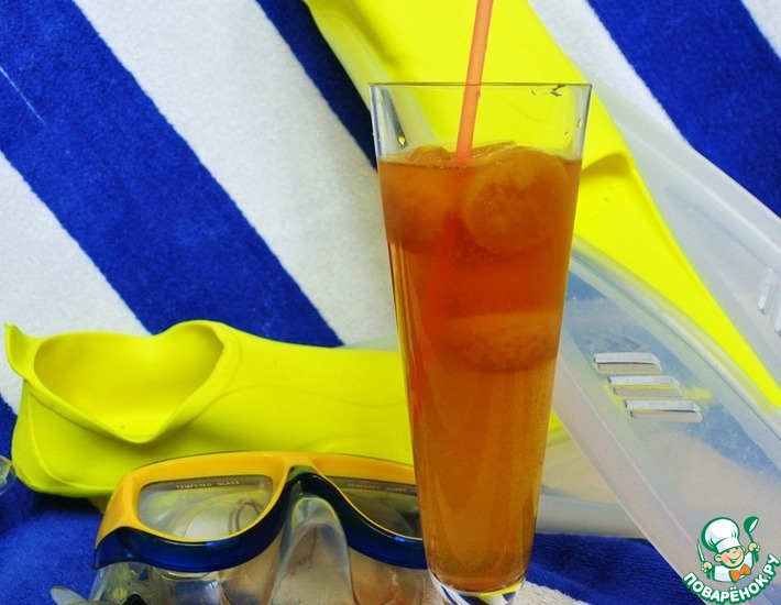 Рецепт: Strong tea on the beach