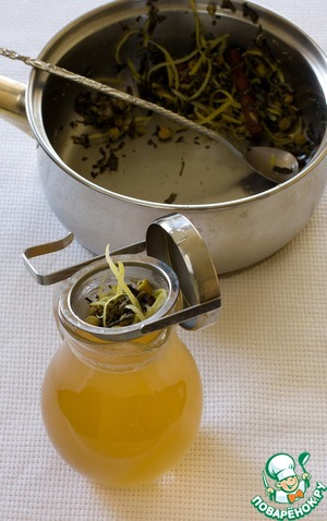 Белый ромашковый глинтвейн – кулинарный рецепт