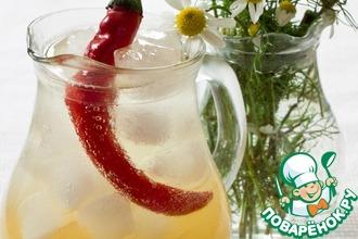 Рецепт: Ромашковый лимонад с чили