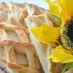 Песочное яблочное печенье За решеткой