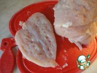 Куриные отбивные в луково-зеленом кляре ингредиенты