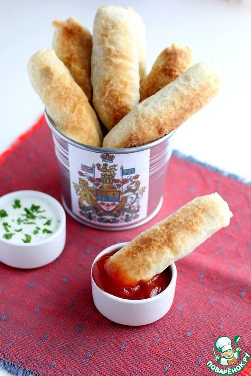 Палочки с чечевицей – кулинарный рецепт