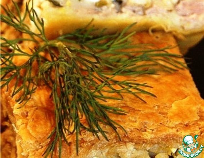 Рецепт: Мясной пирог Креатопита