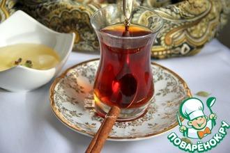 Рецепт: Оживляющий чайный напиток Восточная сказка