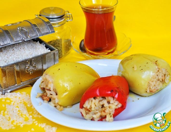 Рецепт: Перец по-турецки