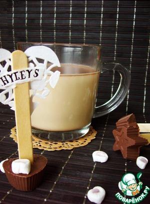 Рецепт: Горячий чай Шоколадное настроение
