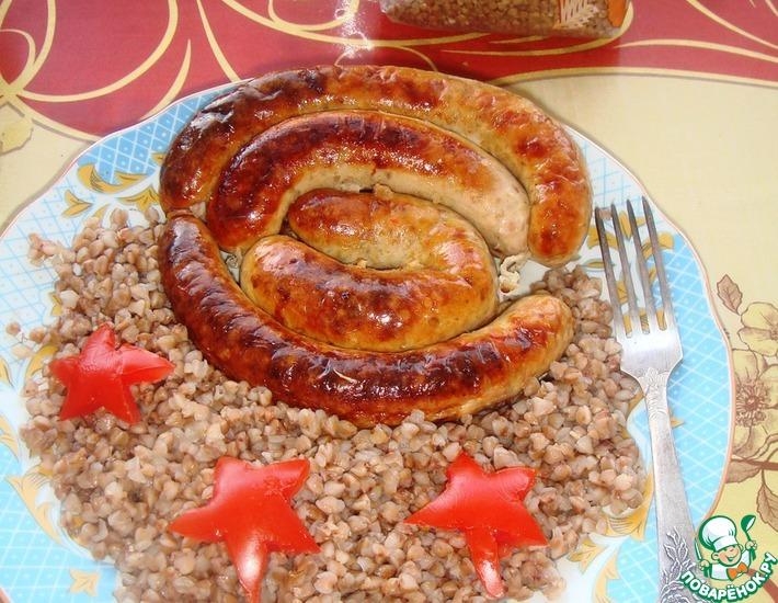 Рецепт: Домашняя колбаса