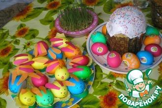 Рецепт: Пасхальные яйца