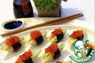 Рецепт: Закуска-суши Юморине 40 лет! С 1 Апреля Поваренок