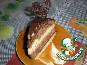 """Торт """"День и ночь"""" – кулинарный рецепт"""
