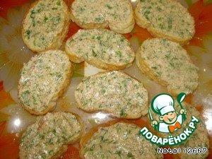 "Бутерброд ""Лодочка"" – кулинарный рецепт"