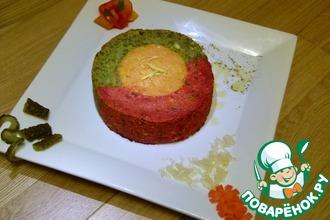 Рецепт: Торт чечевичный По-мужски